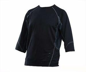 Giant Performance Trail 3/4 Sleeve Jersey (Closeout) (Grey/Black Small) Bike