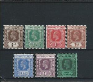 LEEWARD IS 1921-32 MSCA REVERSION TO DIE 1 (7) MM SG 81/87 CAT £160