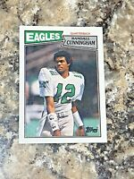 1987 Topps Randall Cunningham RC #296 Philadelphia Eagles NFL Football Card 3