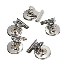 5x Magnet Refrigerator Memo Note Wall Magnetic Clips Clamp Holder Message Healt