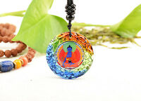 POWER OF HEALING! TOP QUALITY BLESSED COLORED GLAZE PENDANT: MEDICINE BUDDHA