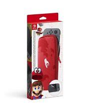 Nintendo Switch Carry Case Plus Screen Protector Accessory Set Super Mario