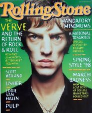 The Verve 1998 Rolling Stone U.S. Promo Poster - Richard Ashcroft On The Cover