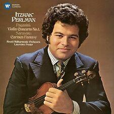 Paganini / Itzhak Pe - Violin Concerto No 1 / Sarasate: Spanish Fantasy [New CD]