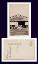 PHILIPPINES ISLANDS OLONGAPO MARKET REAL PHOTO CYKO BACK CIRCA 1907