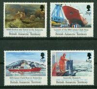 BAT British Antarctic Territtory 185 - 188 James Clark Ross postfrisch MNH 1991
