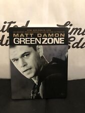 Green zone -blu ray-STEELBOOK-Matt Damon-embossed steelbook-OOP-RARE-