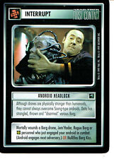 STAR TREK CCG FIRST CONTACT RARE CARD ANDROID HEADLOCK
