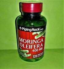 Moringa Oleifera 400 mg 120 capsulas Piping Rock antiinflamatorio antioxidante