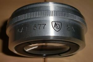 American Optical objective 2x (49 mm. threat)