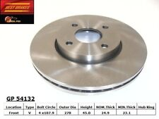 Disc Brake Rotor fits 2005-2007 Ford Focus  BEST BRAKES USA
