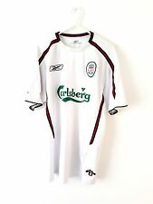 Liverpool Away Shirt 2003. Medium. Reebok. White Adults M Short Sleeves Top Only
