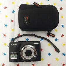 NIKON Black Coolpix L25 10.1MP Wide 5x Zoom VR Digital Compact Camera
