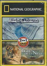 NATIONAL GEOGRAPHIC 2 EN 1 HIELO EXTREMO & TIGRES DE LA NIEVE NEW