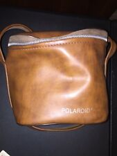 Vintage Faux Leather Polaroid Bag Carry Case