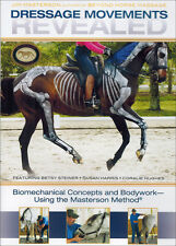 Dressage Movements Revealed - Jim Masterson with Susan Harris DVD NEW