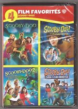 Scooby-Doo Movie Collection: 1, 2, 3 & 4 - DVD Movie Film Favorites BRAND NEW