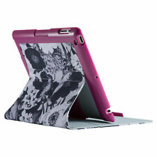 Speck Fitfolio Tablet Case iPad 4 3 2 Vintage Bouquet Grey Boysenberry Purple