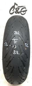 Michelin Road 5 2ct    190/55zr17 75w    Part Worn Motorcycle tyre 629