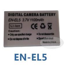 3.7V 1100 mAh Battery for Nikon EN-EL5 ENEL5 Coolpix P500 P100 7900