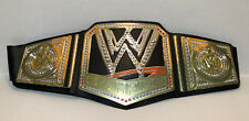WWE World Heavyweight Champion Belt Championship Wrestling Title WWF 2012