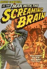MAN WITH the SCREAMING BRAIN (2005) Writer/Director/Star Bruce Campbell SEALED