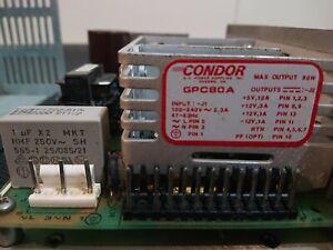 USED -Condor Power Supply GPC80A - 100-240V   2.3A   47-63 Hz