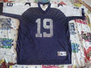 Vintage DALLAS COWBOYS  Keyshawn Johnson Throwback NFL Jersey 2XL