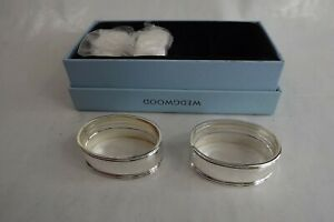 silver plated napkin rings wedgwood