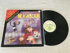RARE SHIRL'S NEIGHBOURHOOD TV SHOW G'DAY NEIGHBOUR CLAUDE THE CROW 1982 LP