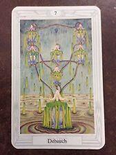 Aleister Crowley Thoth Tarot Small Deck Debauch INDIVIDUAL CARD Magik