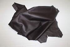 Italian soft Lambskin leather hide hides skin skins Dark Brown #10148 5+sqf