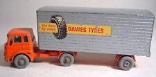 "Matchbox Major Pack M2B Bedford Truck & Trailer ""Davies Tyres"""