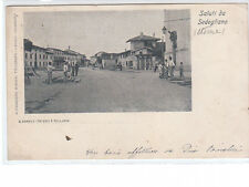 CARTOLINA SEDEGLIANO - VIAGGIATA 1901