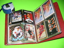 MIXED CARD LOT Eric Lindros 50 Variety Hockey Booklet NHL Collectable FREE SHIP