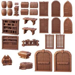 Terrain Crate Dungeon Essentials Set Mantic Games