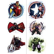 Avengers Assemble Marvel Comics Superhero Birthday Party Favor Toy Tattoos