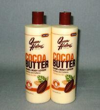 2 x QUEEN HELENE - Cocoa Butter - Hand & Body  Lotion für trockene Haut - 908 g