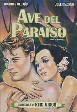 DVD - Ave Del Paraiso NEW Bird Of Paradise Dolores Del Rio FAST SHIPPING !