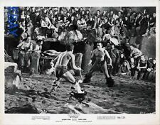 Anthony Quinn barechested in fight VINTAGE Photo
