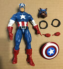 Marvel legends Cap Wolf Captain America Figure Red Skull Onslaught BAF werewolf