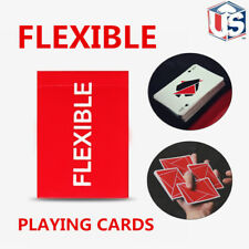 FLEXIBLE Playing Cards Red Deck Cardistry Poker Magic Tricks USPCC Sealed
