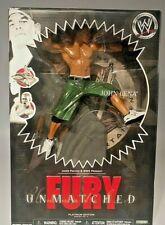 WWE WWF wrestling figure John Cena Unmatched Fury
