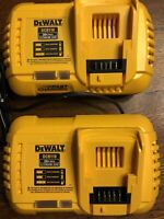 DEWALT DCB118 (2pcs) 20V MAX FLEXVOLT Fast Charger New Removed From Combo Kit