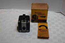 Vintage Brownie Hawkeye Camera, Flash Model, Original Box