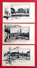 3 x AK DRESDEN Ostern um 1910 Neustädter Markt, Altmarkt, Hauptstrasse    ( 6079