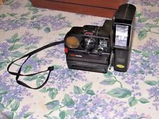 POLAROID PRONTO SONAR ONE STEP LAND CAMERA-W/POLATRONIC FLASH UNIT