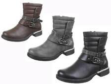 Normale-Weite-(E) Damenstiefel & -Stiefeletten mit Blockabsatz für Mittlerer Absatz (3-5 cm) und Freizeit