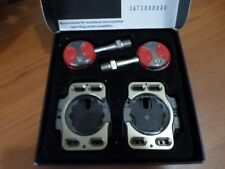 New Speedplay Light Action Stainless Steel Pedals Road Bike Clipless Cleats Red