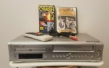 Sylvania SSD800 DVD VCR Combo VHS Player + Remote, Cables and 2 Movies TESTED